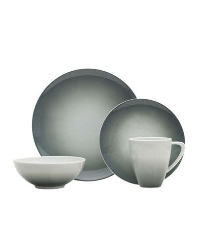 16-Piece Naya Grey Dinnerware Set