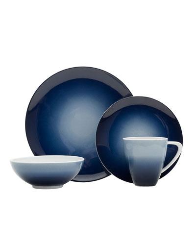 16-Piece Naya Blue Dinnerware Set