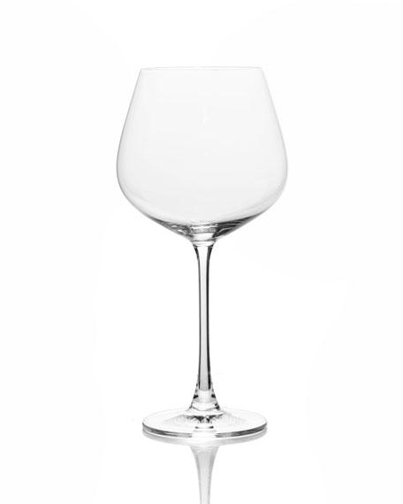 Stiletto Burgundy Glasses, Set of 6