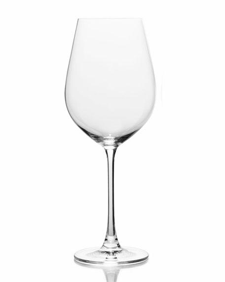 Stiletto Red Wine Glasses, Set of 6