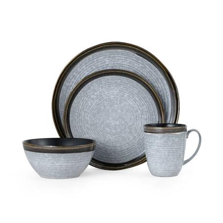16-Piece Willa Brown Dinnerware Set