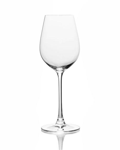 Stiletto White Wine Glasses, Set of 6