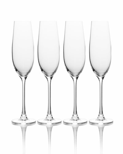 Stiletto Champagne Flutes  Set of 6