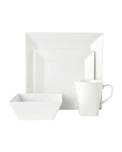 16-Piece Delray Square Dinnerware Set