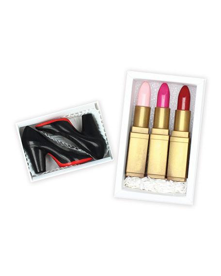 Date Night Lipstick Trio Chocolate Gift Box
