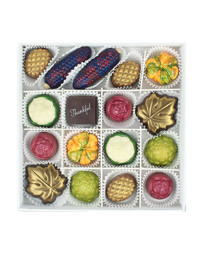 16-Piece Harvest Chocolate Gift Box