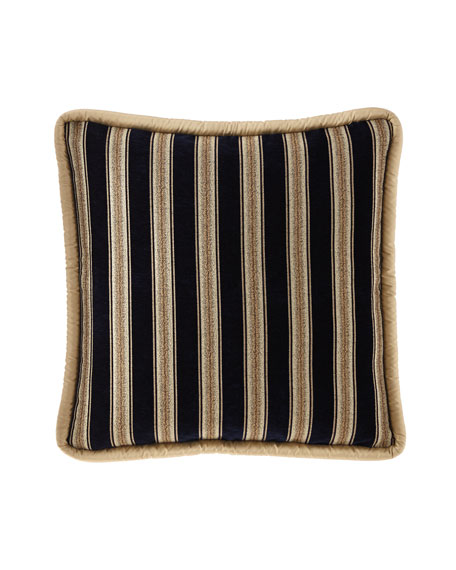 Juniper Striped Reversible European Sham