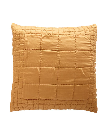 Cash Ochre European Sham