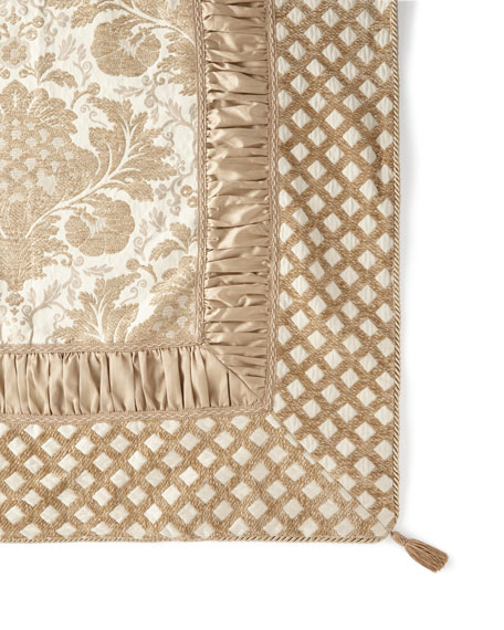 """Everleigh 54"""" Lined/Pieced Table Square"""