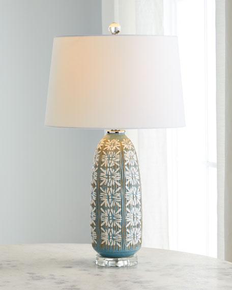 Daisy Ceramic Table Lamp