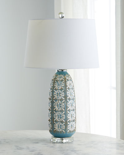 Daisy Ceramic Table Lamp