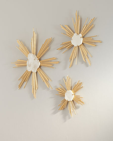 Starburst Wall Decor Set Of