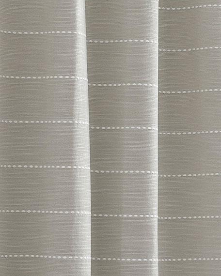 Slub Stripe Shower Curtain