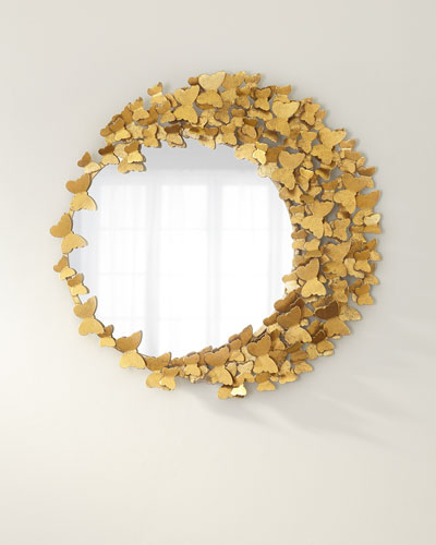 Flutter Away Butterfly Mirror