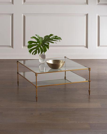 Winthrop Glass Coffee Table