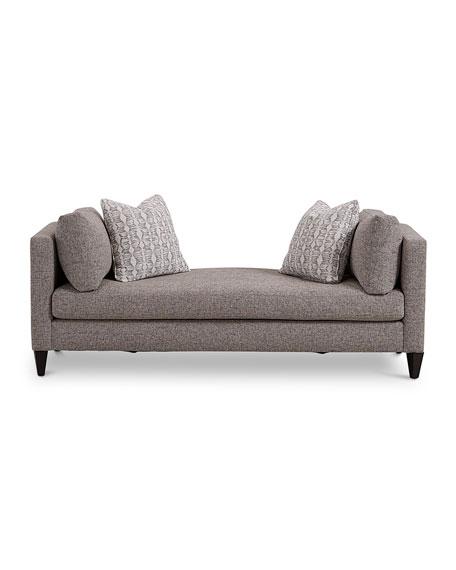 Saxon Neutral Chaise