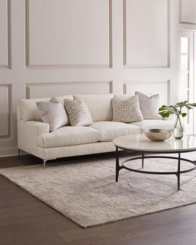 Carver Ivory Sofa  95