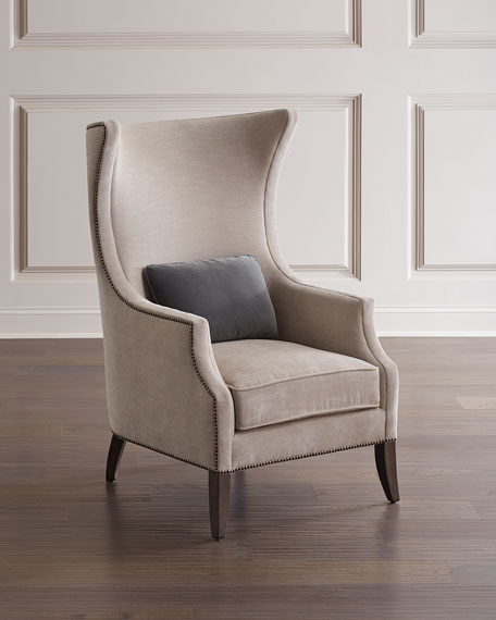 Mona Traditional Wing Chair