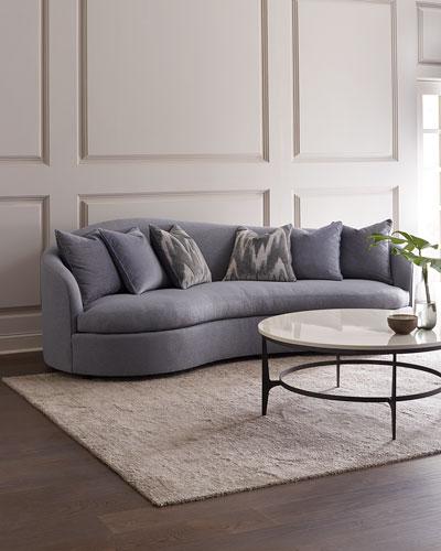 Moderne Curved Sofa  105