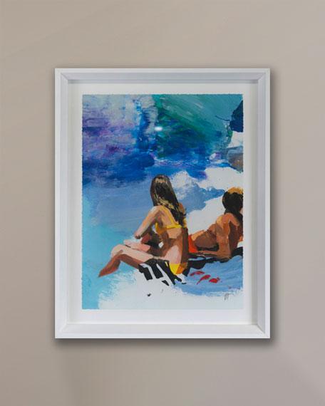 """""""Beach Studies 19"""" Giclee by Van Hoang"""