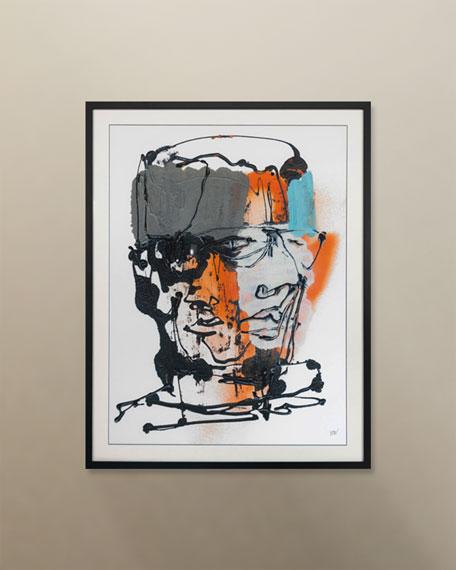 """Blind Portraits 6"" Giclee"