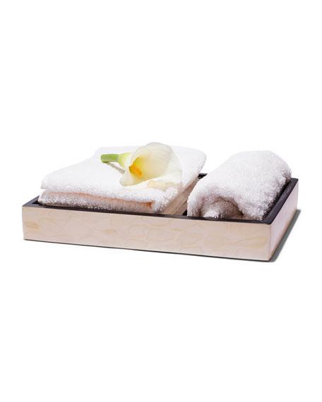 Light Almendro Bath Tray
