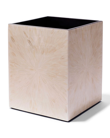 Light Almendro Wastebasket