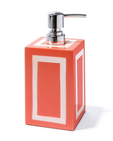 Coral & Bone Soap Dispenser
