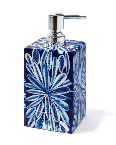 Blue Almendro Soap Dispenser