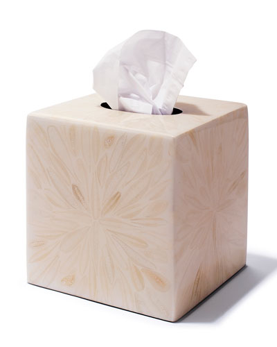 Light Almendro Tissue Box Cover