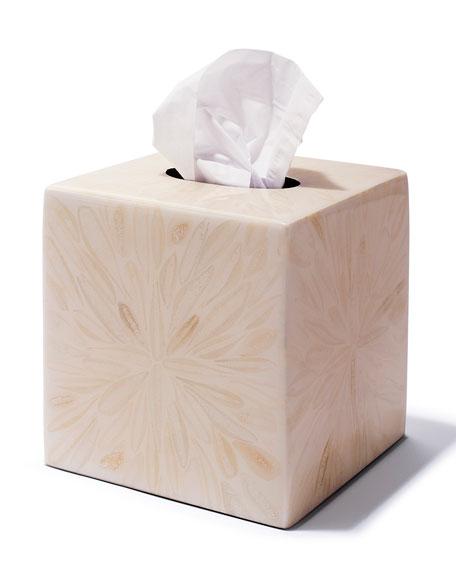 Light Almendro Tissue Box Cover