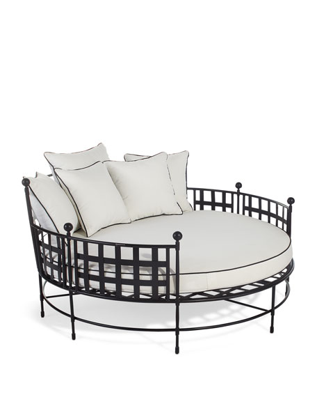 Avery Neoclassical Cuddle Chair