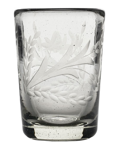 Preferido Pepita Etched Beer Glass