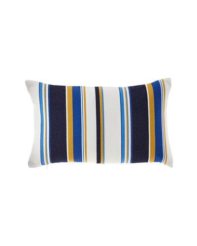 Harbor Stripe Indoor/Outdoor Lumbar Pillow