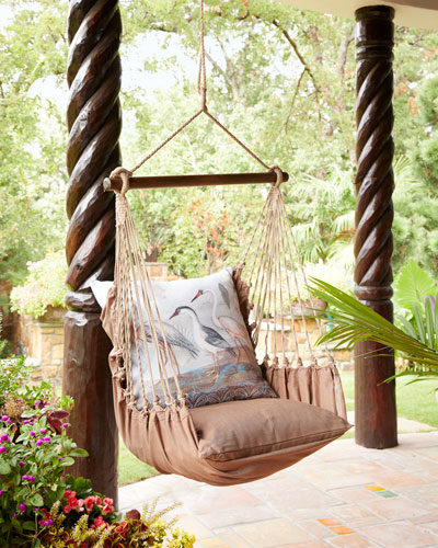Chocolate Brown Swing Chair