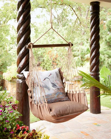 Chocolate Brown Swing Chair
