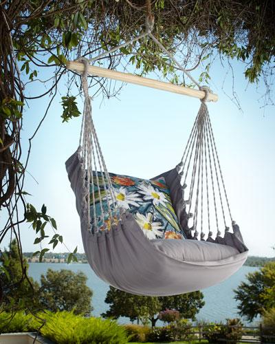Gray Swing Chair