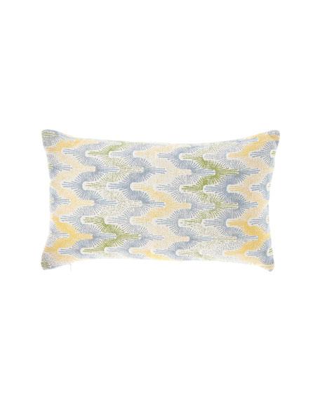 Gradient Fans Sky Indoor/Outdoor Lumbar Pillow