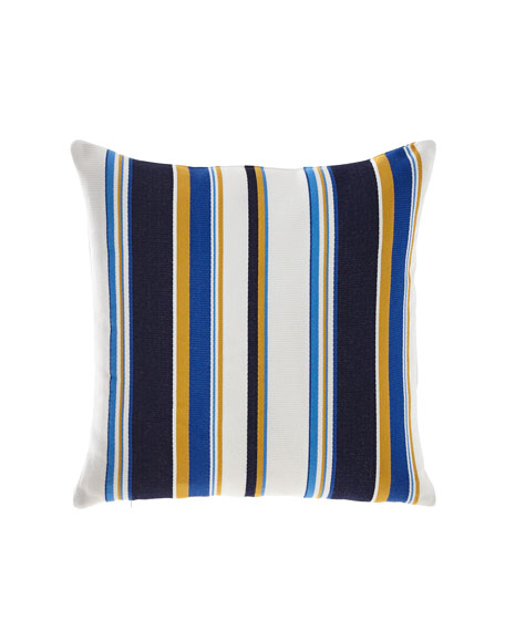 Harbor Stripe Indoor/Outdoor Pillow
