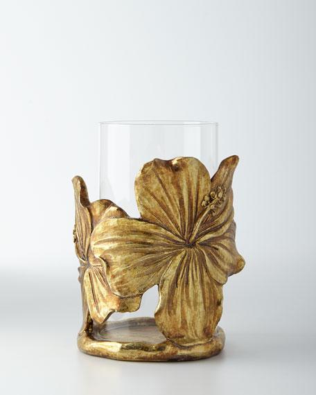 Hibiscus Leaf Candleholder