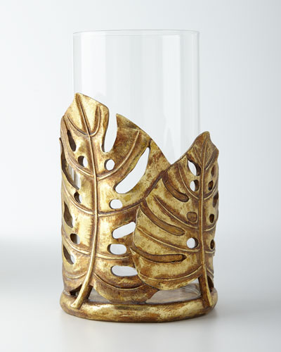 Banana Leaf Candleholder