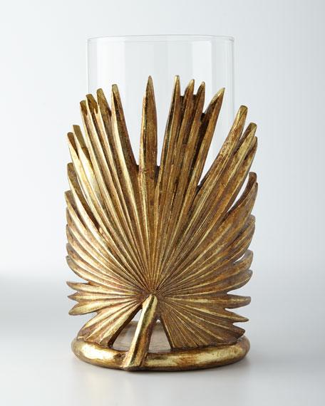 Palm Leaf Candleholder
