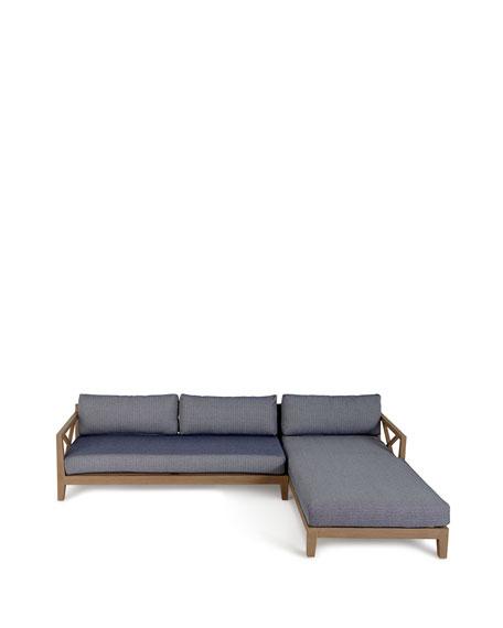 Huntington 2-Piece Left-Arm Sectional Sofa