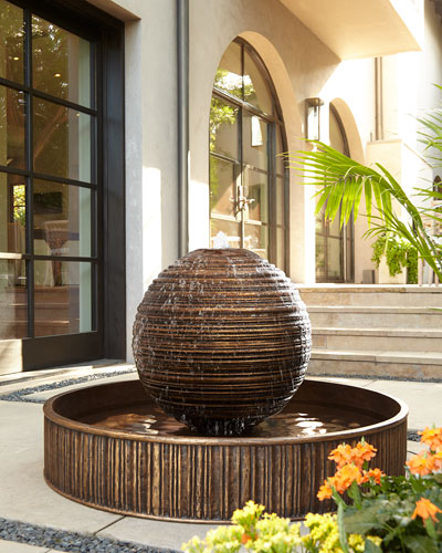 Ridged Ball Fountain