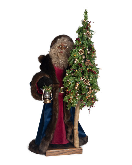 Holiday Spirit Santa, 29""