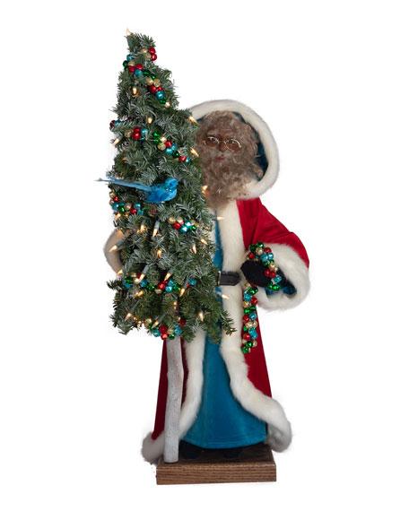 "Merry & Bright Santa, 29"""