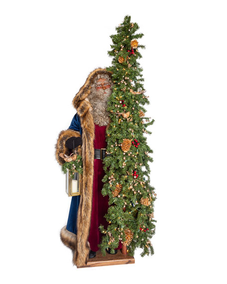 "Holiday Spirit Santa, 57"""