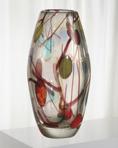 Lesley Art Glass Vase