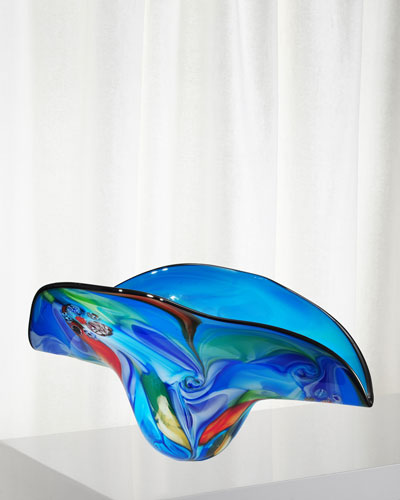 Metamorphic Art Glass Bowl