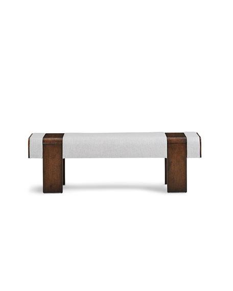 Kinda Mid Century Modern Bench